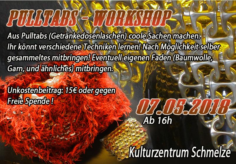 Upcycling_Pulltabs_Workshop_Kulturzentrum_Schmelze